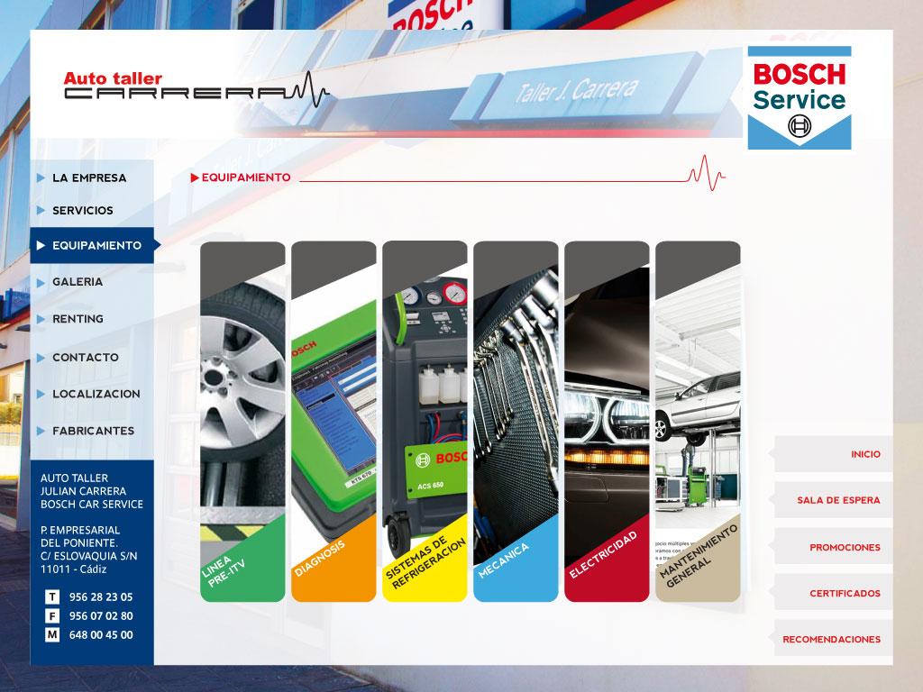 auto taller julian carrera bosch car service. Black Bedroom Furniture Sets. Home Design Ideas